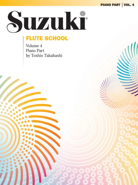 Suzuki Flute School Piano Acc., Volume 4 (Revised)