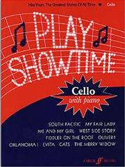 Play Showtime for Cello, Book 1