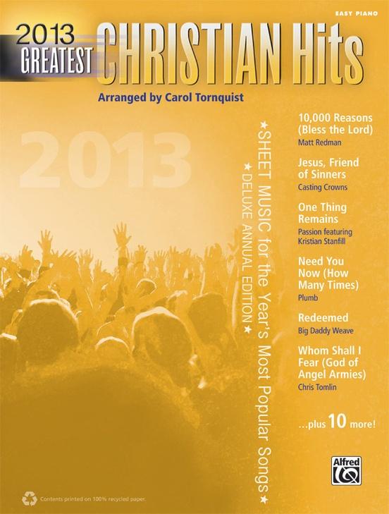 most popular christian artists 2013