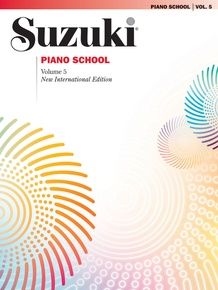 Suzuki Piano School New International Edition Piano Book, Volume 5