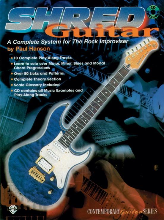 Shred Guitar Book CD