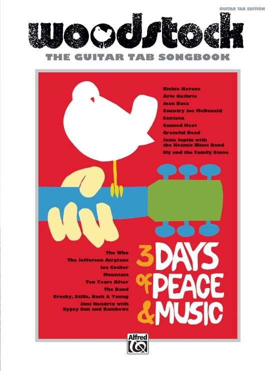 Woodstock: The Guitar TAB Songbook