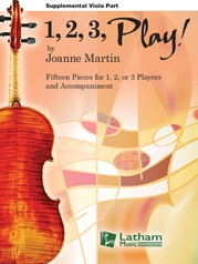 1, 2, 3, Play! - Supplemental Viola Part