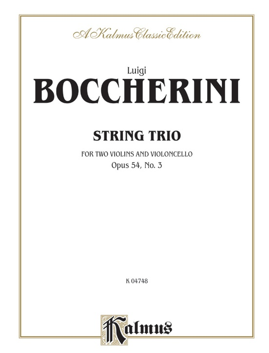 String Trio, Opus 54, No. 3