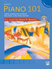 Alfred's Piano 101: The Short Course Lesson Book 1