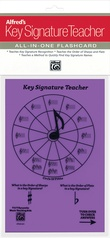 Alfred's Key Signature Teacher: All-In-One Flashcard (Purple)
