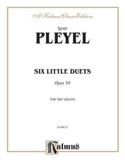 Six Little Duets, Opus 59