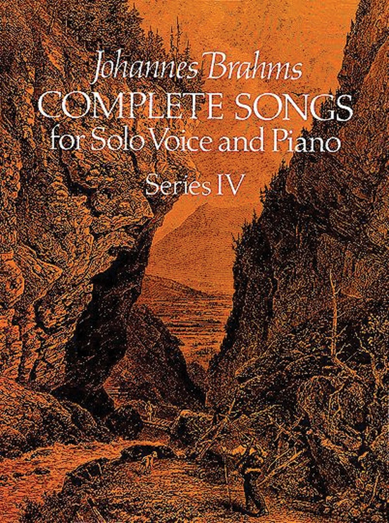 Songs for Solo Voice and Piano, Series 4 (Complete)