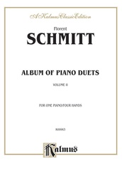 Album of Piano Duets, Volume II
