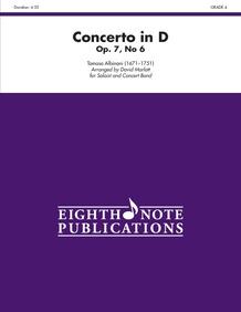 Concerto in D, Opus 7, No. 6