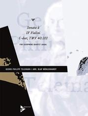 Sonata à IV Violini C-dur, TWV 40:203