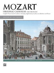 The Complete Original Cadenzas to the Piano Concertos