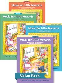 Music for Little Mozarts Rhythm Speller Books 1-4 (Value Pack)