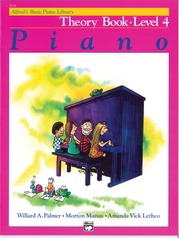 Alfred's Basic Piano Library: Theory Book 4