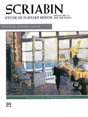 Scriabin: Etude in D-sharp Minor