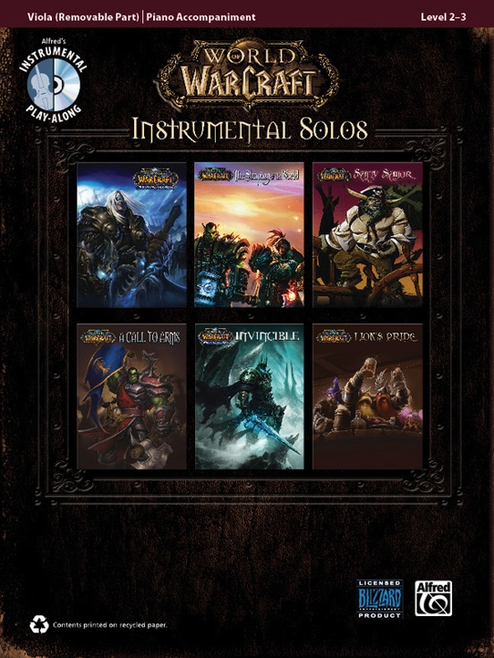 ワールド・オブ・ウォークラフト・ソロ曲集(ヴィオラ+ピアノ)【World of Warcraft Instrumental Solos】