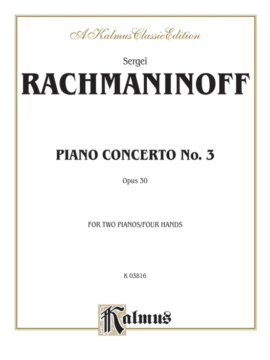 Piano Concerto No. 3 in D Minor, Opus 30