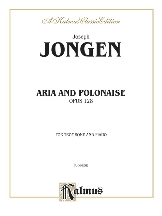 Aria and Polonaise, Opus 128