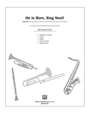 He Is Born, Sing Noel!