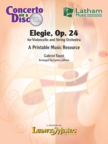 Elegie, Op. 24 for Violoncello and String Orchestra