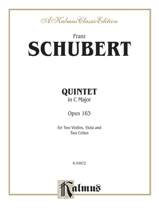 String Quintet in C Major, Opus 163