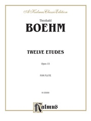 Twelve Studies, Opus 15 for Flute Solo