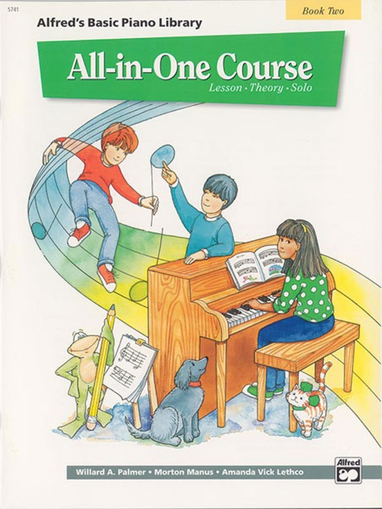 Alfred's Basic All-in-One Course, Book 2