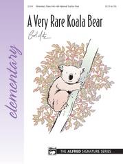 A Very Rare Koala Bear