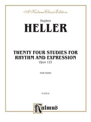 Twenty-Four Piano Studies for Rhythm and Expression, Opus 125