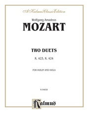 Two Duets, K. 423, K. 424
