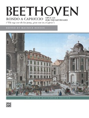 Beethoven: Rondo a capriccio, Opus 129