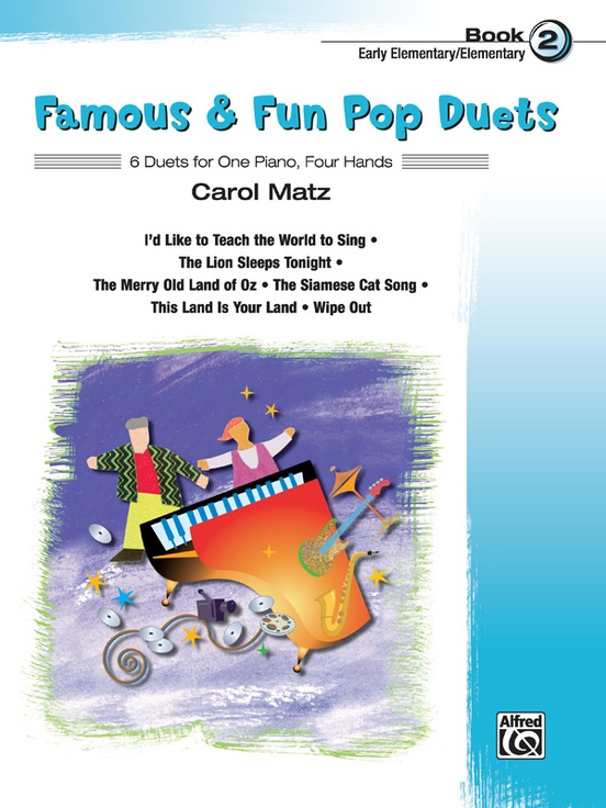 Famous & Fun Pop Duets, Book 2
