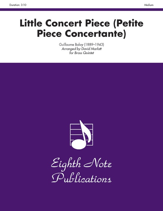 Little Concert Piece (Petite Piece Concertante)