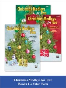 Christmas Medleys for Two, 1-3 (Value Pack)