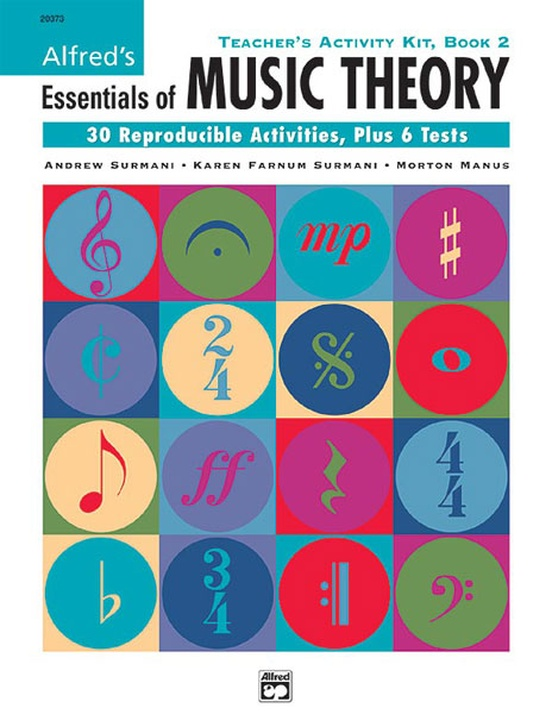 Alfred's Essentials of Music Theory: Teacher's Activity Kit, Book 2
