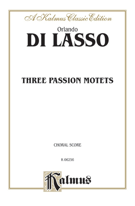 Three Passion Motets