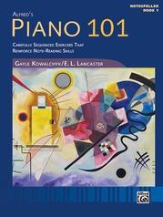 Piano 101: Notespeller, Book 1