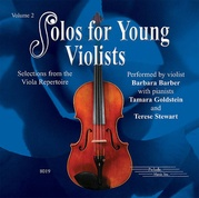 Solos for Young Violists CD, Volume 2