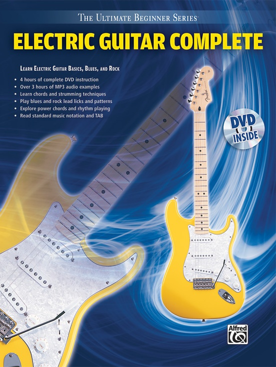 ultimate beginner series electric guitar complete guitar book