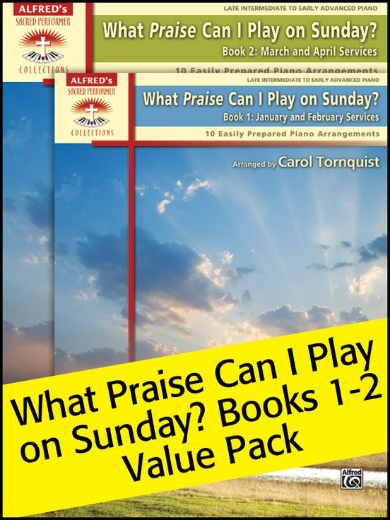 What Praise Can I Play on Sunday, 1 & 2 (Value Pack)