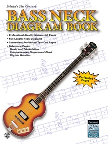 Belwin's 21st Century Bass Neck Diagram Book
