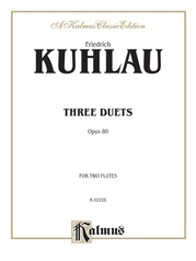 Three Duets, Opus 80