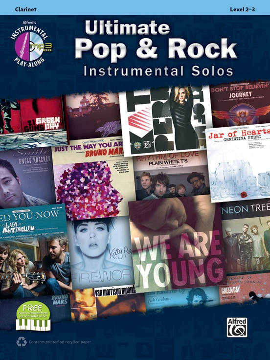 究極のポップ&ロック・ソロ曲集(クラリネット)【Ultimate Pop & Rock Instrumental Solos】