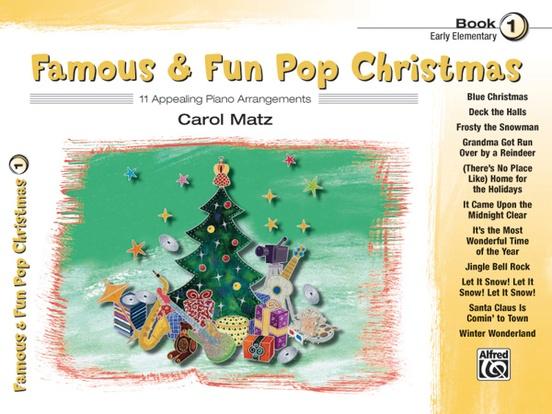 Famous & Fun Pop Christmas, Book 1