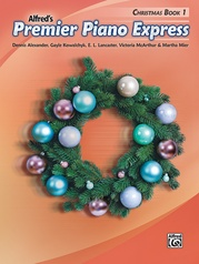 Premier Piano Express, Christmas Book 1