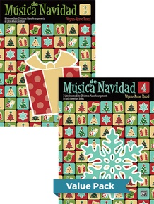 Música de Navidad, Books 3 & 4 (Value Pack)