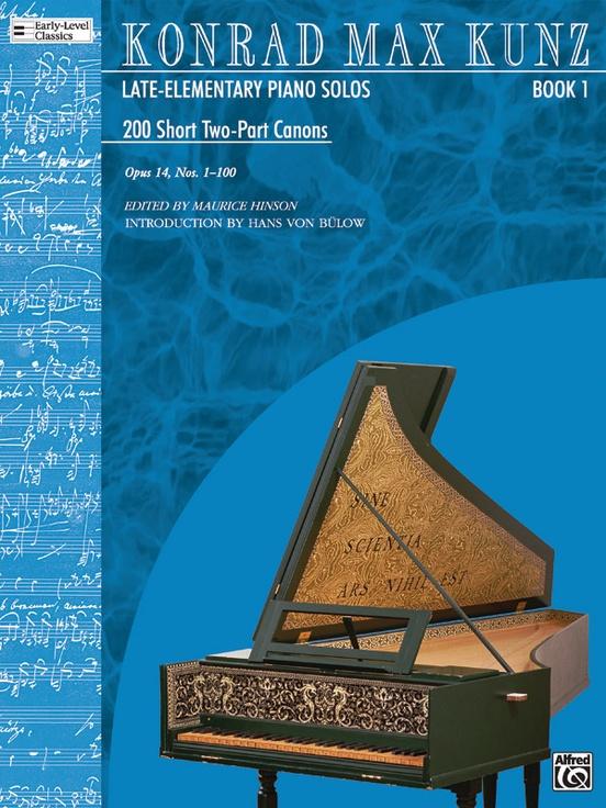 200 Short 2-Part Canons, Opus 14, Book 1 (Nos. 1-100)