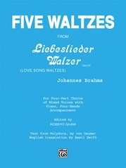 Five Waltzes (from Liebeslieder Walzer)