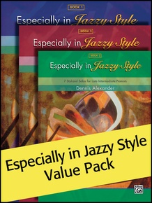 Especially in Jazzy Style 1-3 (Value Pack)