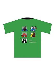 Taste the Classics! T-Shirt: Green (Large)